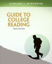 Guide to College Reading by Kathleen T. McWhorter (2014, Paperback)