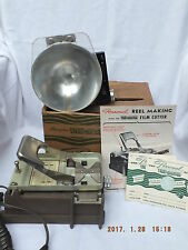 Viewmaster Cutter for Personal Stereo Camera-Exllent Condt+2 NEW reels and FLASH