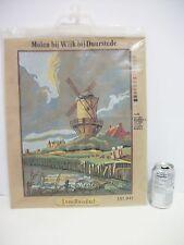 Pako Half Cross Stitch Embroidery Windmill Wijk bij Duurstede by Van Ruisdael