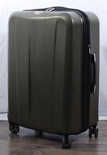 """Ricardo Beverly Hills Polycarbonate Spinner Suitcase Upright 28"""" Checkable Green"""