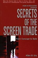 Secrets of the Screen Trade: From Concept to Sale-ExLibrary
