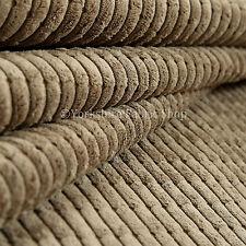 Rollo de 10 metros Decoración Tela de tapicería Cable de patrón de efecto ladrillo Marrón Moca.