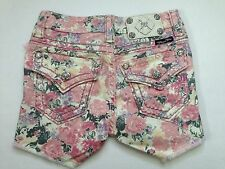 Miss Me Girls Rose Shorts CK4021H1 size 14 NWT