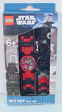 LEGO Star Wars DARTH VADER~ Kids Wrist Watch & Mini Figure CLASSIC STYLE~ H