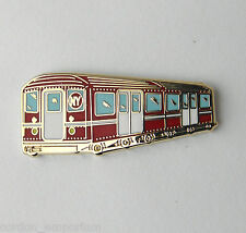 NEW YORK SUBWAY TRAIN RAILWAY LAPEL PIN BADGE 1 INCH
