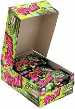 Trolli Extreme Sour Bites Fruitz Chewy Fruit Candy Bulk 1 Box of 18 Pouches