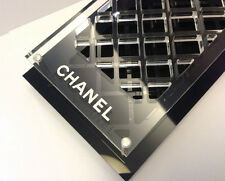 CHANEL Black Cosmetic Makeup Holder organizer VIP Gift Brush Lip Face BRAND NEW
