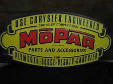 DODGE MOPAR CHRYSLER PLYMOUTH METAL SIGN part accessories emblem logo auto car