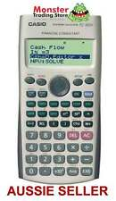 AUSSIE SELLER CASIO FINANCIAL CALCULATOR FC-100V FC100V FC100 NEW WARRANTY