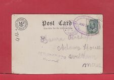 Halifax DLO Dead letter Office commercial pc nice strikes Canada post card