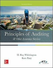 PRINCIPLES OF AUDITING & OTHER ASSUR - RAY WHITTINGTON KURT PANY (HARDCOVER) NEW