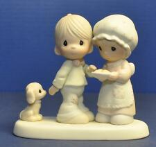 1986 PRECIOUS MOMENTS Sharing Our Christmas Together 102490 MIB
