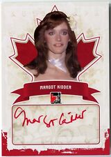 Margot Kidder 2011 In The Game Canadiana Red Autograph Auto 1/1 Superman