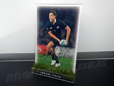 Signed ISRAEL DAGG Photo PROOF COA New Zealand All Blacks 2016 Jersey World Cup