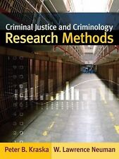 Criminal Justice and Criminology Research Methods, , New Book