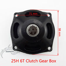 Mini Moto 25H 6 Tooth Clutch Drum Gear Box For Pocket Bike 47cc 49cc 2 Stroke