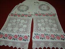 Vintage Ukrainian linen embroidered rushnyk  Poltava region1920's  # 51