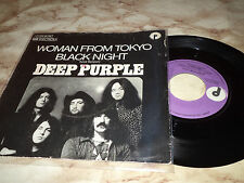 "DEEP PURPLE ""WOMAN FROM TOKYO/BLACK NIGHT"" 7"" GERMANY RARE"