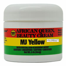African Queen Beauty Cream MJ Yellow 2 Oz / 56.6 g