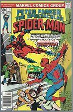 **PETER PARKER THE SPECTACULAR SPIDER-MAN #1**(DEC 1976, MARVEL)**TARANTULA**VF+