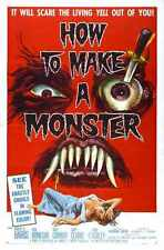 How To Make A Monster Poster 01 A2 Box Canvas Print