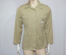 Wrangler camicia uomo TG M maniche lunghe beige usata e originale