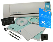 Silhouette CAMEO Digital Cutting Machine + Tools & $10.00 Download Code Bundle