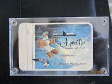 VINTAGE 1952 PAN AMERICAN AIRWAYS JUPITER REX MEMBERSHIP CARD ULTRA RARE