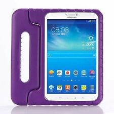 Kids Shockproof EVA Stand Case + Tempered Glass Film For iPad / Samsung Tablet