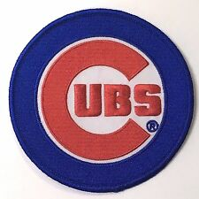 "4 5/8"" CHICAGO CUBS 2016 World Series Champs Iron-on Baseball Jersey PATCH"
