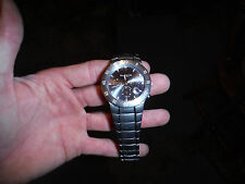 Kenneth Cole Mens Wrist Watch U54-02-KC3374 Stainless Steel Water Resistant