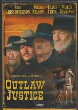 OUTLAW JUSTICE Kristofferson Willie Nelson Waylon Jennings Travis Tritt NEW DVD