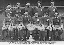 LIVERPOOL FOOTBALL TEAM PHOTO 1965-66 SEASON