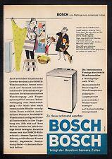 3w521/ Alte Reklame - von 1958 - BOSCH Haushaltsgeräte
