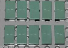 Lego 10x Sand Green Tile 1x2 NEW!!!