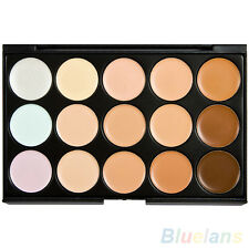 15 Color Modish Facial Contour Neutral Makeup Cream Camouflage Concealer Palette