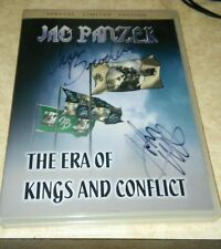 Autographed Jag Panzer the Era of Kings and Conflict dvd   Power Metal