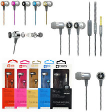 Genuine In Ear Noise Isolating Earphones Headphones For Smartphone,Mp4,iPad Air