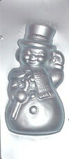 """12"""" Extra Large Snowman Front Chocolate Candy Mold  B9052 NEW"""
