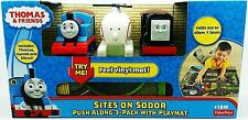 Thomas & friends Fisher-Price Sites on Sodor Playmat Train Harold Diesel Engine