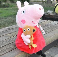 New Peppa Pig Stuffed Soft Figures Toy Plush Doll 19CM/7.5inch Kids Xmas Gift