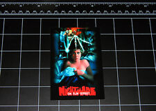 Nightmare on Elm Street 1984 movie decal sticker 80s horror halloween freddy