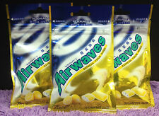 3x NEW Airwaves LARGE PACKS 84g Honey Lemon Flavor Chewing Gum Wrigley's Menthol