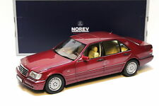 1:18 NOREV MERCEDES CLASSE S s500 w140 RED NEW in Premium-MODELCARS
