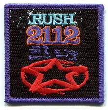 RUSH '2112' logo EMBROIDERED IRON-ON PATCH -p4160 Free Shipping clockwork angels