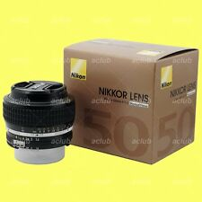 Genuine Nikon AI-s 50mm f/1.2 Lens AiS Nikkor 50 mm f1.2 Manual Focus MF Japan