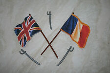 Britains Deetail Replacement French/British Flags X2 + swords.NAPOLEONIC.