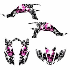 Yamaha YFZ 450 graphics 2003 2004 2005 2006 2007 2008 deco kit #9800 HOT PINK