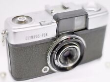 1st Model Olympus Pen 35mm Film Half Frame Camera w/ D.Zuiko 2.8cm Lens **READ**