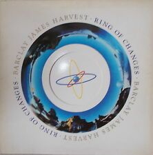 LP Barclay James Harvest - Ring of Changes,VG++,cleaned UK Press Polydor (1983)